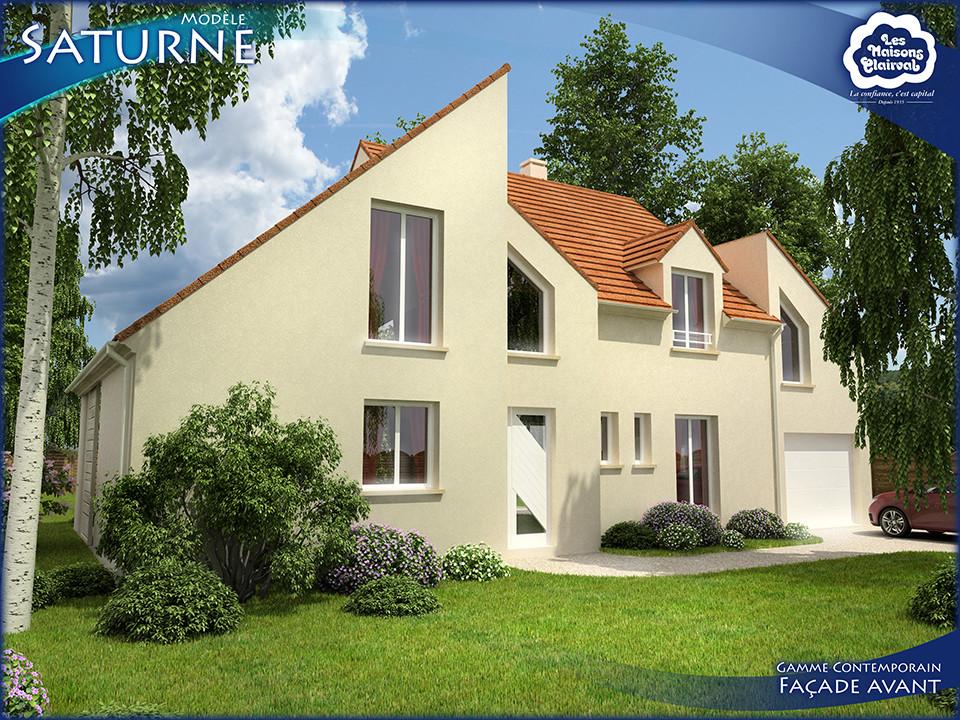 Contemporains les maisons clairval for Constructeur maison individuelle dreux